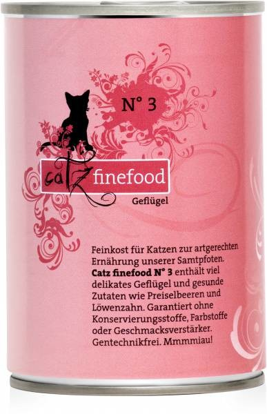 Catz Finefood No. 3 Poultry 400 g