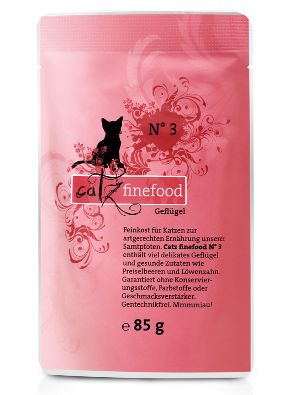 Catz Finefood No. 3 Poultry EAN: 4260101763082 reviews