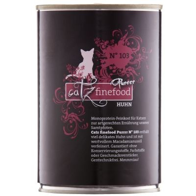 Catz Finefood Purrrr No. 103 Chicken 400 g order cheap