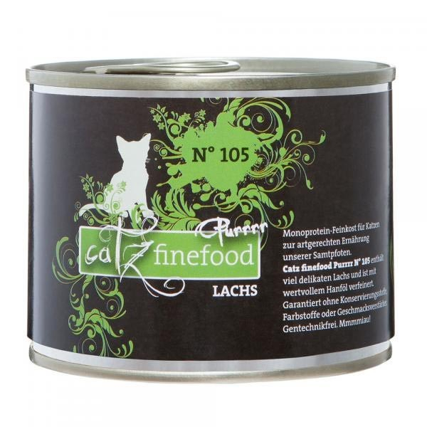 Catz Finefood Purrrr No. 105 Salmon EAN: 4260101769459 reviews