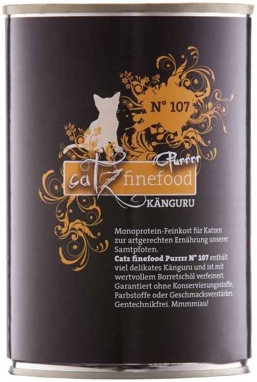 Catz Finefood Purrrr No. 107 Kangaroo, canned 400 g order cheap