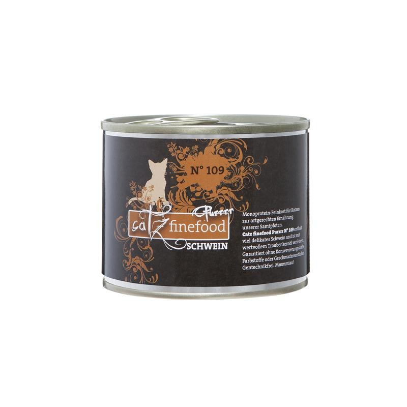 Catz Finefood Purrrr No. 109 Pork 200 g order cheap