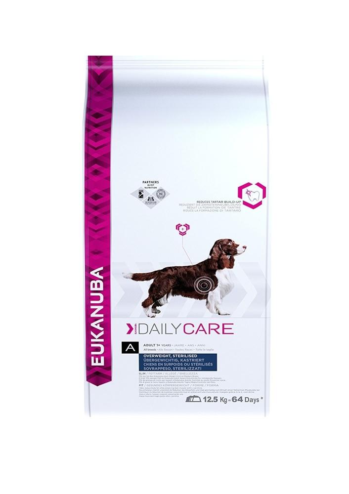 Eukanuba Daily Care All Breeds, Hondenvoer/Overgewicht, Kip 12.5 kg