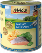 MAC's Dog - Salmon with Pasta & Spinach - EAN: 4027245009090