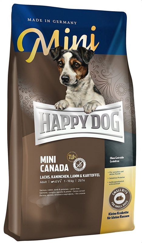 Happy Dog Supreme Mini Canada Lohta, Kani, Lammas & Peruna 300 g
