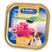 DR.Clauder Schale Selected Meat - Pute & Reis 100 g