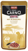 Animonda GranCarno Pouch Exotic with Kangaroo 125 g