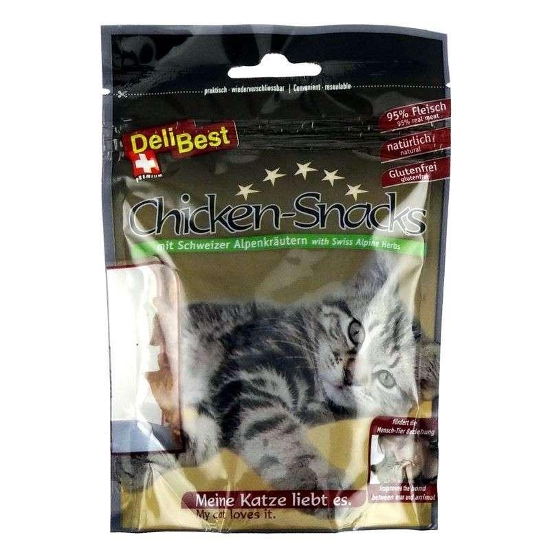 DeliBest Chicken Snack Cat 50 g