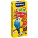 Vitakraft Trio-Mix - Honey, Orange & Popcorn 240 g