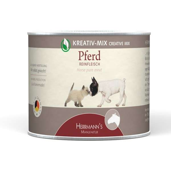 Herrmann's  Kreativ-Mix Paard Puur in Blikje 200 g