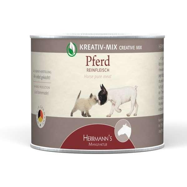 Herrmann's  Kreativ-Mix Paard Puur in Blikje 200 g, 400 g, 800 g, 100 g