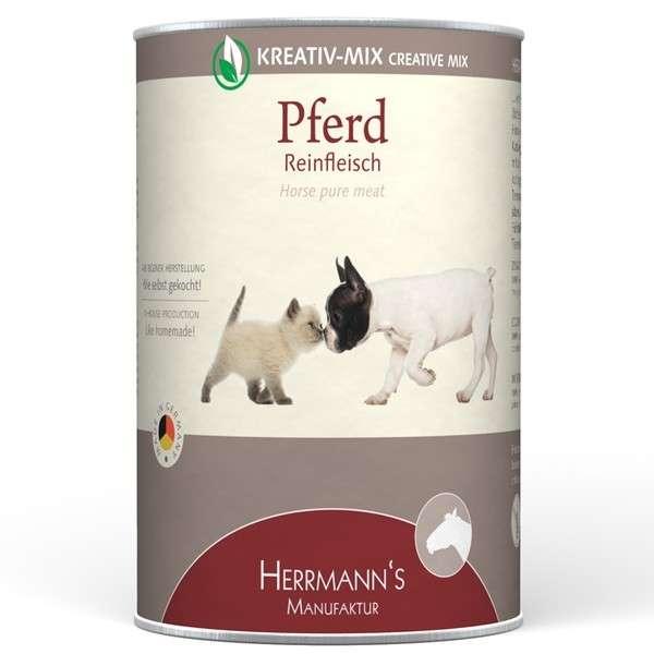 Herrmann's  Kreativ-Mix Paard Puur in Blikje 400 g 4047459007736