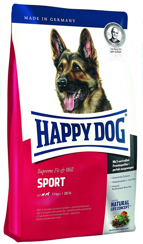 Happy Dog Supreme Fit & Well Sport Adult 300 g, 15 kg