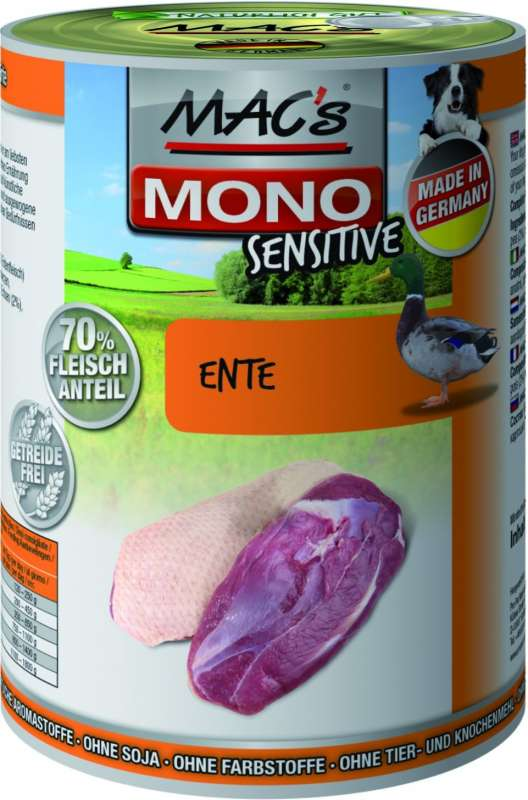 MAC's Mono Sensitive - Duck canned 4027245009724 erfarenheter
