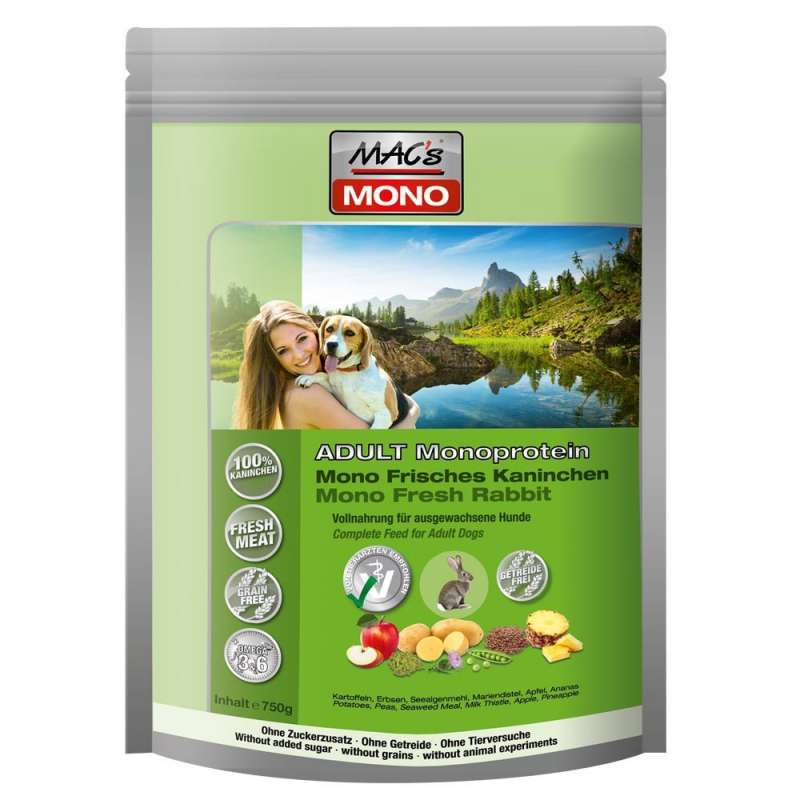 Mono Konijn & Aardappel 750 g