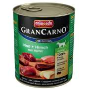 GranCarno Original Adult Beef & Deer with Apple 800 g