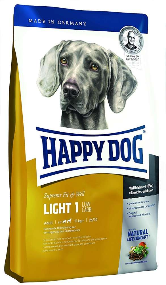 Happy Dog Supreme Light 1 - Low Carb 300 g køb rimeligt og favoribelt med rabat