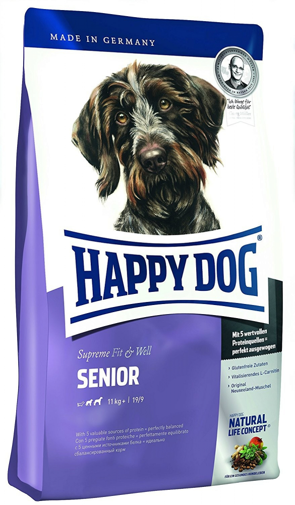 Supreme Fit & Well Senior from Happy Dog 1 kg, 12.5 kg, 300 g, 4 kg buy online