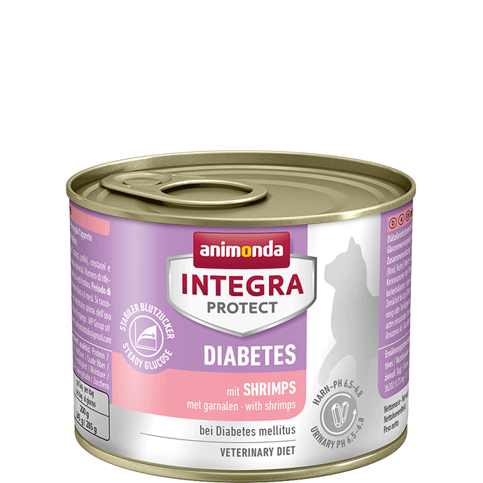 Animonda Integra Protect Diabetes Adult mit Shrimps 200 g