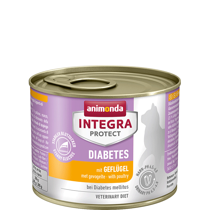 Animonda Integra Protect Diabetes Adult mit Geflügel 200 g 4017721868419