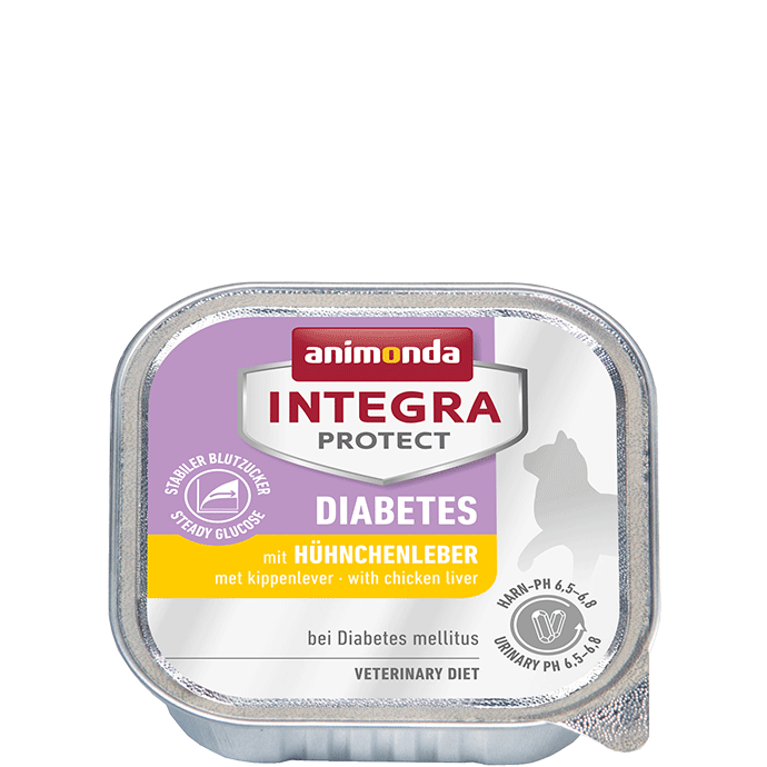 Animonda Integra Protect Diabetes Adult mit Hühnchenleber 100 g