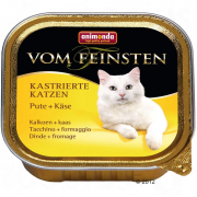 Vom Feinsten Adult for Sterilised Cats with Turkey + Cheese 100 g