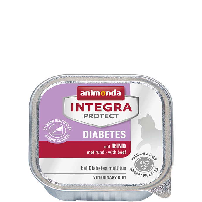 Animonda Integra Protect Diabetes Adult con Carne de Vaca, en Taza 100 g 4017721868389 opiniones