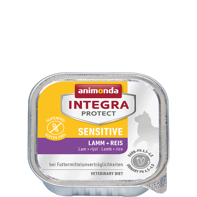 Animonda Integra Protect Sensitive Adult with Lamb + Rice 100 g 4017721866941 anmeldelser