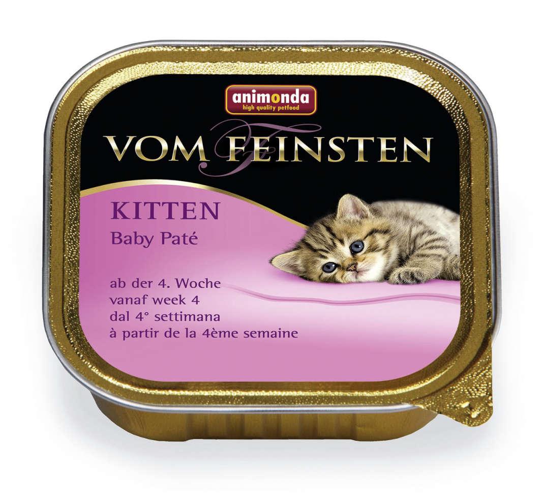 Animonda Vom Feinsten Kitten Baby-Pate 100 g köp billiga på nätet