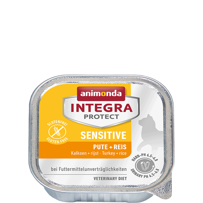 Animonda Integra Protect Sensitive Adult Turkey + Rice 100 g, 200 g test