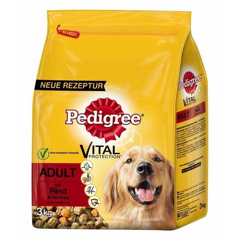Pedigree Vital Protection Adult Carne de Vaca y Verduras 7.5 kg, 3 kg, 15 kg, 1.5 kg, 10 kg