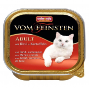 Vom Feinsten Adult with Beef + Potatoes 100 g fra Animonda