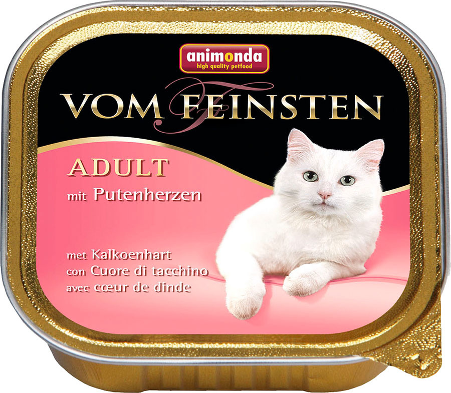 Animonda Vom Feinsten Adult with Turkey hearts 4017721833066 erfarenheter