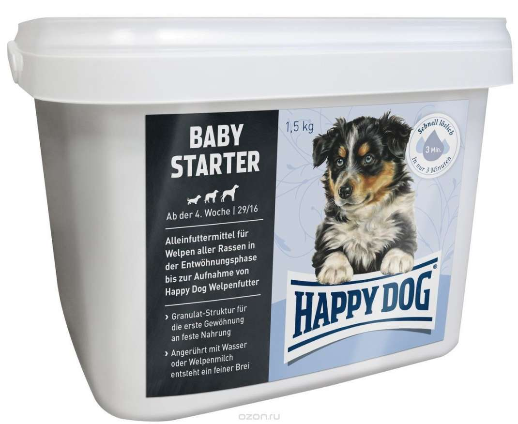 Happy Dog Baby Starter 4 kg, 1.5 kg