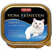 Animonda Vom Feinsten Adult with Salmon & Shrimps 100 g handle billig her