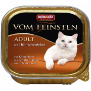Vom Feinsten Adult with Chicken liver 100 g van Animonda
