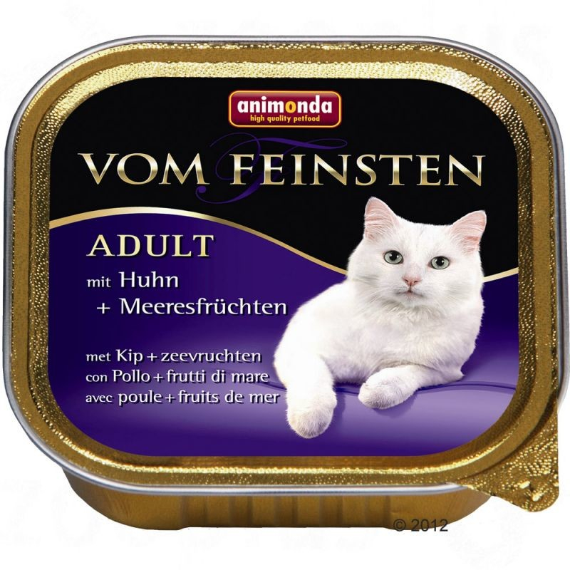Animonda Vom Feinsten Adult with Chicken & Seafood 4017721833066 erfarenheter