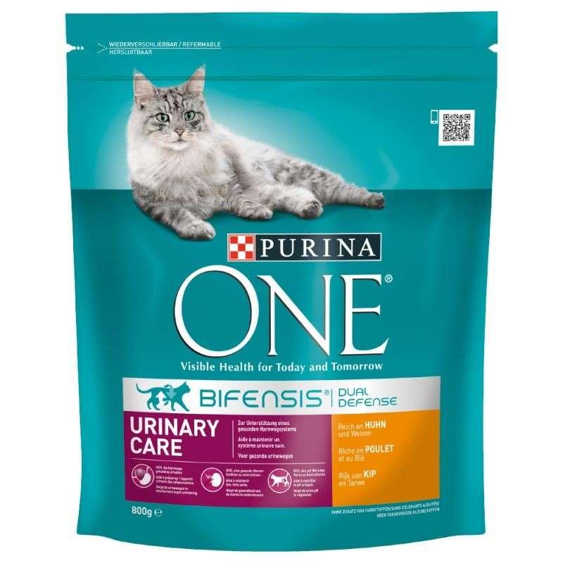 Purina ONE Bifensis Urinary Care Pollo y Trigo 800 g, 1.5 kg prueba
