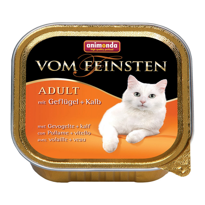 Animonda Vom Feinsten Adult with Poultry & Veal 100 g