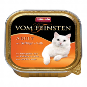 Vom Feinsten Adult with Poultry & Veal 100 g fra Animonda