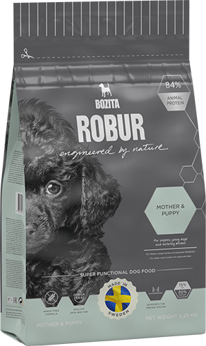 Bozita Robur Mother & Puppy 3.25 kg, 14 kg, 1.25 kg