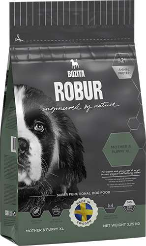 Bozita Robur Mother & Puppy XL 3.25 kg, 14 kg
