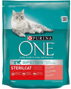 Purina ONE Bifensis Sterilcat Salmon and Wheat 800 g