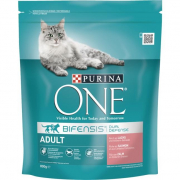 PurinaONE Bifensis Salmon with Grain Adult 800 g Cat food