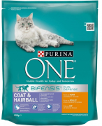 ONE Bifensis Coat & Hairball -  Poulet et Céréales 800 g