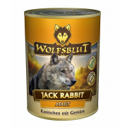 Jack Rabbit - Rabbit & Vegetables 395 g van Wolfsblut