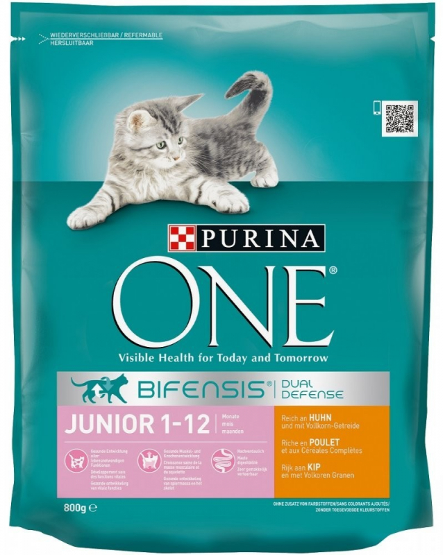 Purina One Bifensis Junior 1-12 months, Rich in Chicken and with Whole Grains 7613035614482 erfarenheter