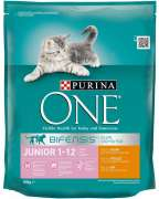 Purina ONE Bifensis Junior 1-12 months, Rich in Chicken and with Whole Grains 800 g