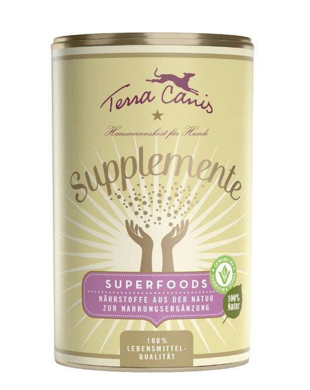 Terra Canis Supplemente - Superfoods 150 g online bestellen