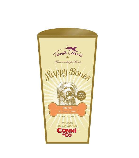 Terra Canis Happy Bones met Kip - Graanvrij 250 g